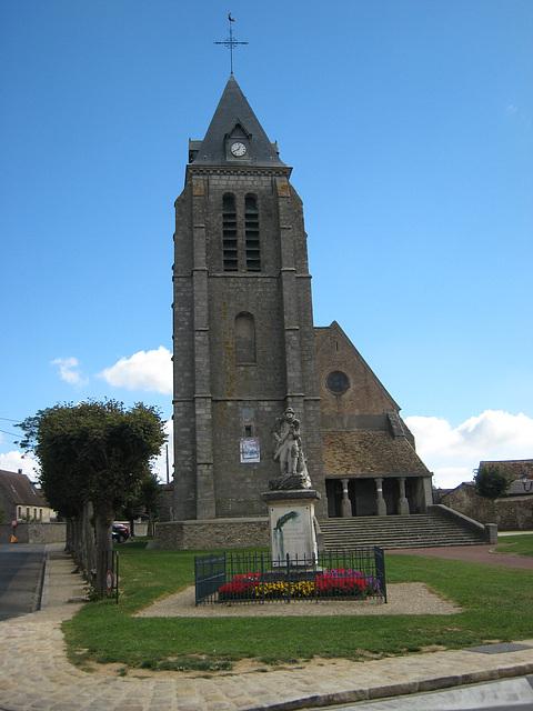 L'église de Bombon