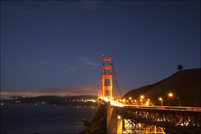 Golden Gate Bridge @ Night