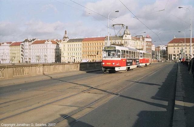 DPP #8420 On Palackeho Most, Prague, CZ, 2007