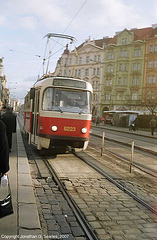 DPP #8223  Arriving At Namesti Bratri Synku, Prague, CZ, 2007