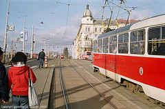 DPP #8223 and 8322 At Palackeho Namesti, Prague, CZ, 2007