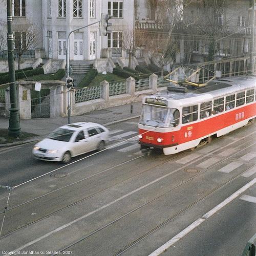 DPP #8211 Seen From Zelecnicni Most, Prague, CZ, 2007
