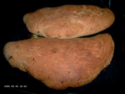 Spinach Calzone 1