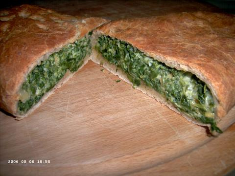 Spinach Calzone 2