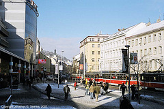 Andel Tram Stop, Andel (Smichov), Prague, CZ, 2007