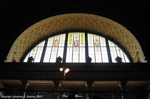 Stained Glass, Fantova Kavarna, Praha Hlavni Nadrazi, Prague, CZ, 2007
