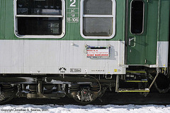 CD Train #R641 Destination Board, Praha Hlavni Nadrazi, Prague, CZ, 2007