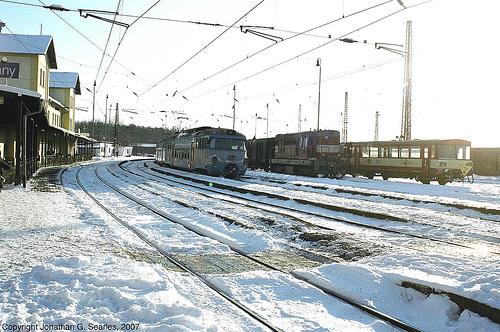 Lineup Of Trains At Cercany, Bohemia(CZ), 2007