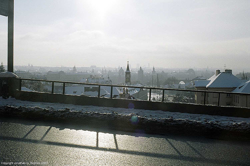 View From Chotkova, Prague, CZ, 2007
