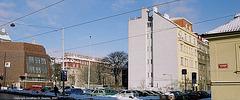 Buildings, Stefanikova, Smichov, Prague, CZ, 2007