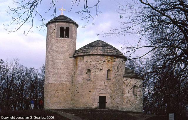 Romanske Rotunda sv. Jiri (Romanesque Rotunda Of St. George), Rip, Bohemia(CZ), 2006