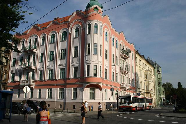 Safarik Square in Bratislava