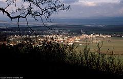 View Of Krapcice From Rip, Color Shot, Rip, Bohemia(CZ), 2006