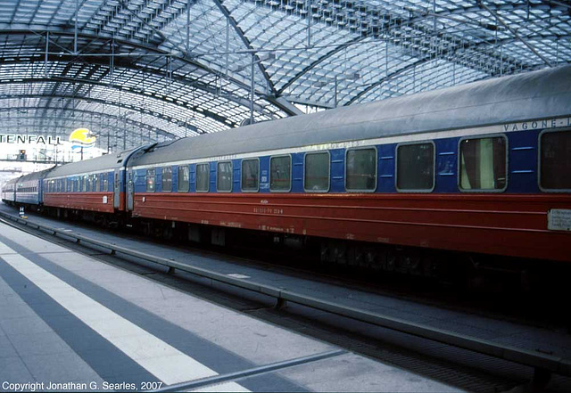 RZD/Wagons-Lits 00102285, Picture 2, Berlin Hbf, Berlin, Germany, 2007
