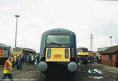 """GNER #89001 """"Avocet,"""" Doncaster, England(UK), 2003"""