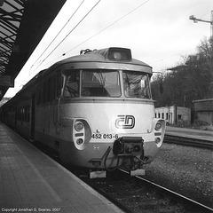 CD #452 013-6 At Praha Hlavni Nadrazi, Prague, CZ, 2007