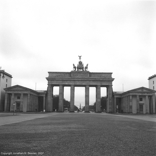 Brandenberger Tor (Brandenberg Gate), Berlin, Germany, 2007