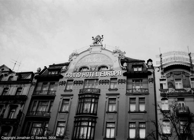 Grand Hotel Europa, Vaclavske Namesti, Prague, CZ, 2006
