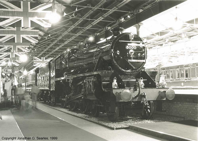 ex-LMS #5000, National Railway Museum, York, North Yorkshire, England(UK), 1999