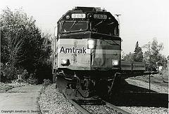 Amtrak #263, Plattsburgh, NY, USA, 1999