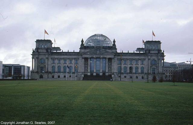 Bundestag (Reichstag), Berlin, Germany, 2007