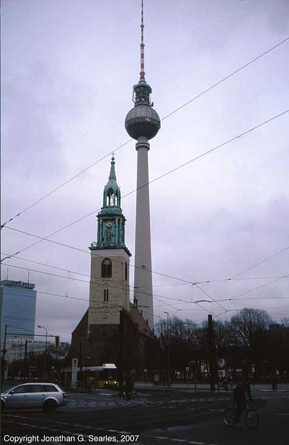 Berlin Television Tower, Berlin, Germany, 2007