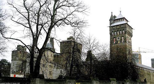 Cardiff Castle, Cardiff, Wales(UK), 2007