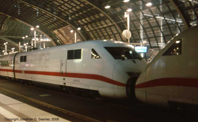402 Class ICE High Speed Trains, Berlin Hbf, Berlin, Germany, 2006