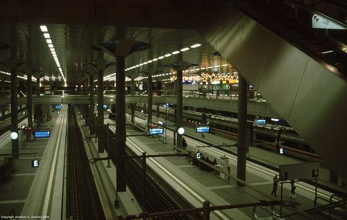 Berlin Hauptbahnhof, Berlin, Germany, 2006