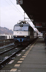 ZSSK #350004-8, Praha-Holesovice, Prague, CZ, 2006