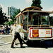 Cable Car On Turntable At Beach, Picture 2, San Francisco, CA, USA, 1993