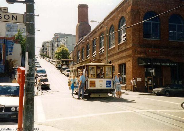 San Francisco Municipal Railway, Cable House, San Francisco, CA, USA, 1993
