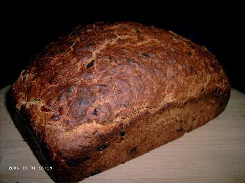 Cinnamon Raisin Bread 1