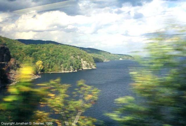 Blurred Lake Champlain, NY, USA 1999