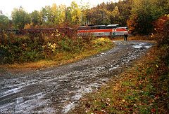 Lackawaxen & Stourbridge #54, near Stourbridge, PA, USA, 1995