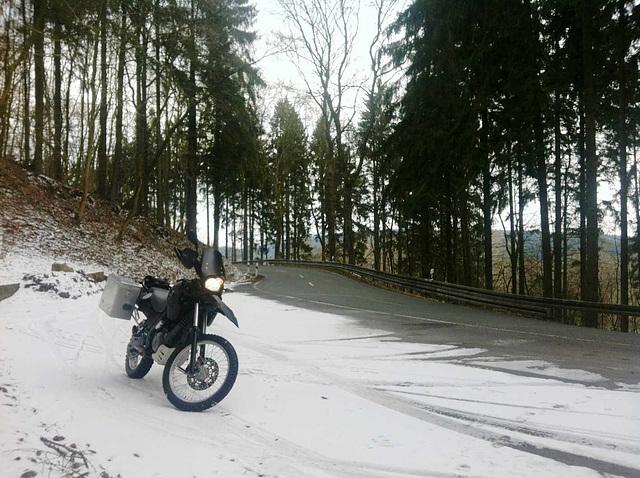 Zum Glück nicht überall Schnee...