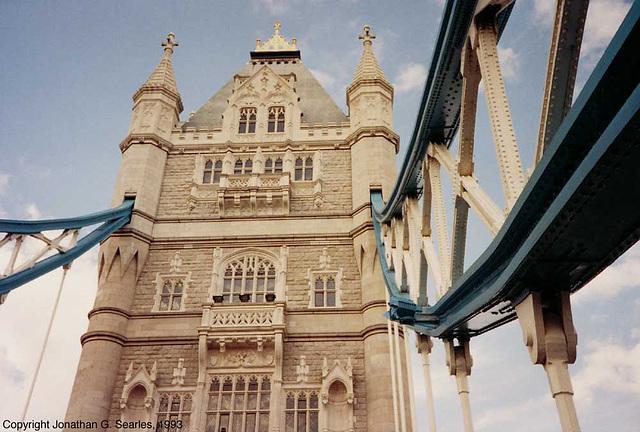 Tower Bridge, London, England (UK), 1993