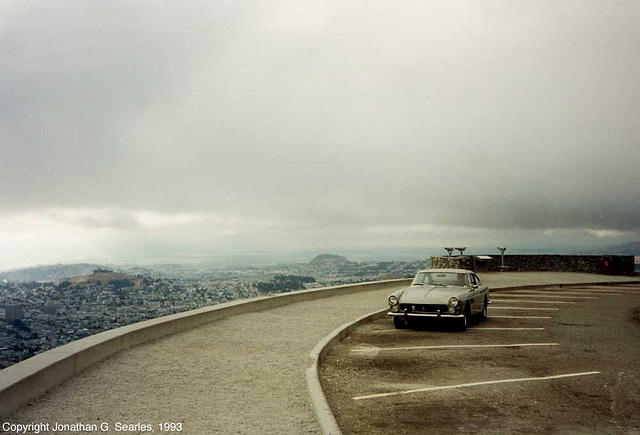 View From Knob Hill, Picture 3, San Francisco, CA, USA, 1993