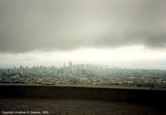 View From Knob Hill, Picture 1, San Francisco, CA, USA, 1993