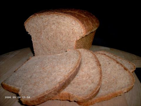 Transitional Whole Wheat Sandwich Bread 2