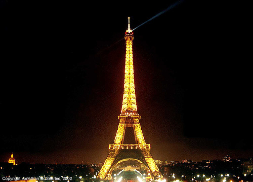 Tour Eiffel (Eiffel Tower), Paris, France, 2002
