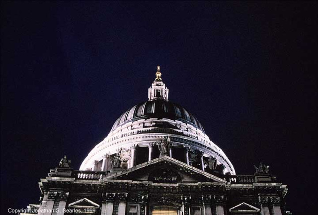 St. Paul's Cathedral, Picture 2, London, England (UK), 1999