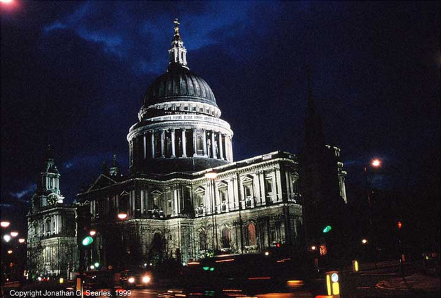 St. Paul's Cathedral, Picture 1, London, England (UK), 1999