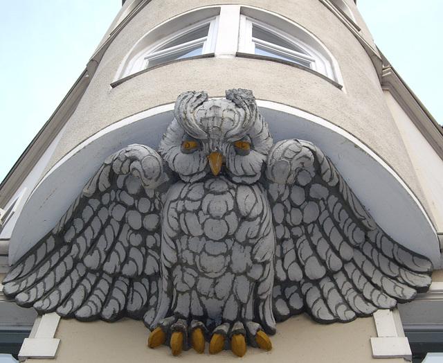Eulenerker in der Ziegeleistrasse Hannover