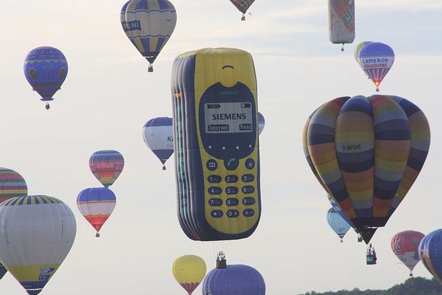 ballons (53) Mobile Siemens