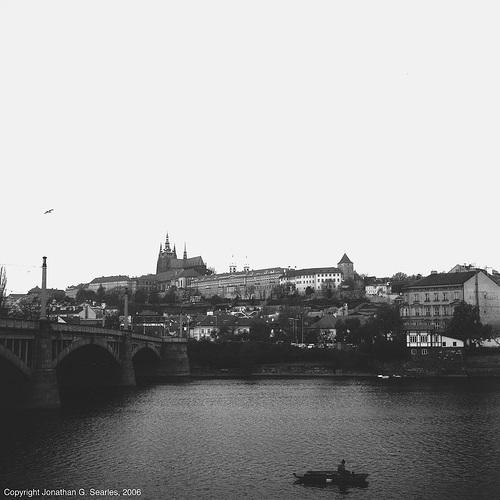 Hradcany and Manesuv Most, Prague, CZ, 2006