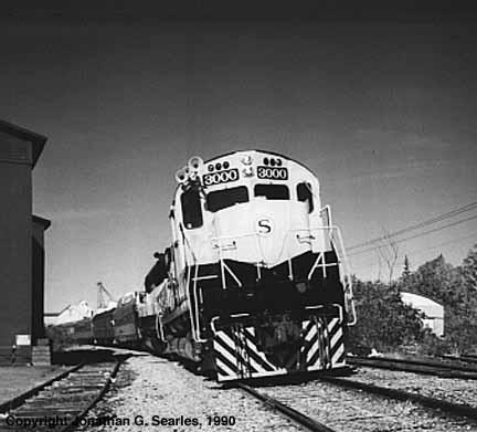 NRHS Excursion Train, Sherburne, NY, USA, 1990