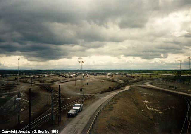 Selkirk  Railroad Yard, Selkirk, NY, USA, 1993