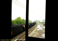 Union Pacific Unit Coal Train From Berea Tower, Picture 2, Berea, OH, USA, 1997