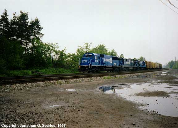 Conrail Reefer Express, Berea, OH, USA, 1997